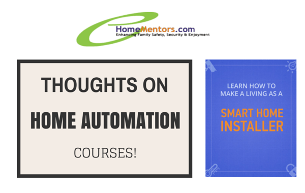 Home Automation Courses Blog Article