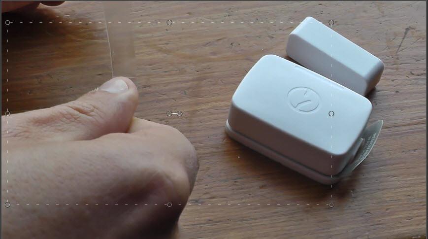 SmartThings Door Contact Install