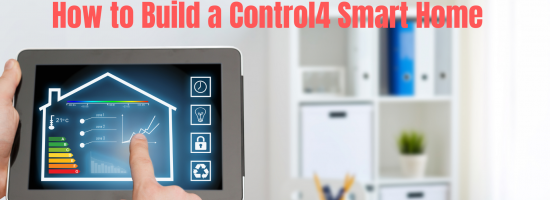 How to Build a Control4 Remote Control Smart Home Automation System