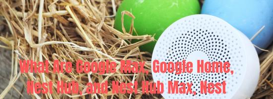Google Max & Google Home Hub | Nest Mini, Nest Hub & Nest Hub Max